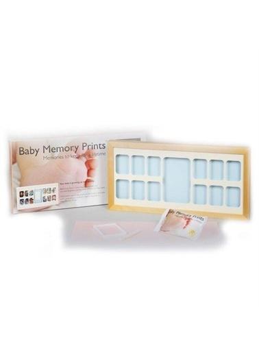Bellona Baby Memory Prints El ve Ayak İzi 12 Aylık Çerçeve Renkli